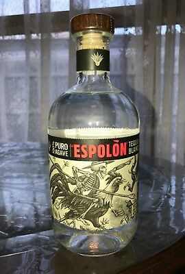Espolon Tequila Blanco! 80 Proof! Sealed! 100 Agave!