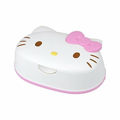Houseware Sanrio Hello Kitty Wet Tissue 80 sheets with face-type Case MA