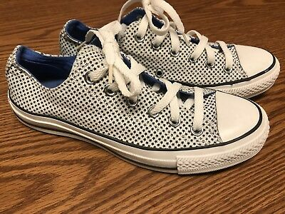 7ac1ae4f3e9d9c Converse All Star Galaxy Cosmo Low Top White Blue Sneaker Sz Mens 6 Women s  7