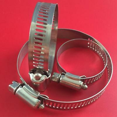 Stainless Steel Hose Clips Pipe Clamps Fuel Hose Air Water Pipe Clamp Worm Drive