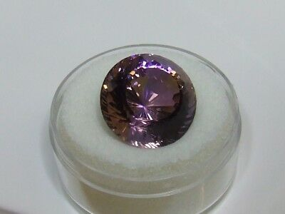 Natural earth-mined world class museum quality ametrine...23.16 carat