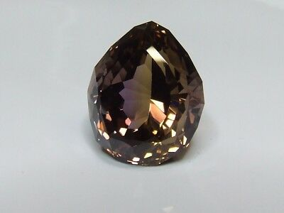 Natural earth-mined world class museum quality ametrine...37.6 carat