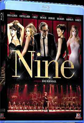 Blu Ray + Fourreau : NINE ( N. Cage - M. Cotillard - N. Kidman ) NEUF cellophané