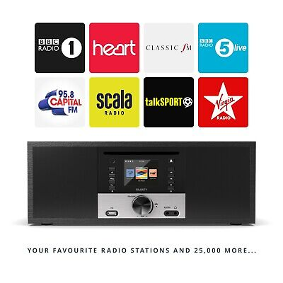 Majority Internet Radio CD Digital DAB/DAB+  FM Hifi Bluetooth Wifi