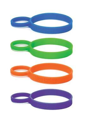 Klean Kanteen - Silicone Pint Cup Ring Multi-Coloured 4 Pack