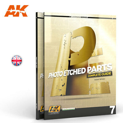 AK Interactive 244 - PHOTOETCHED PARTS - Learning Series - Englische Ausgabe