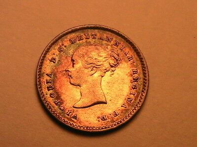 1838 GREAT BRITAIN Maundy 2 Pence Ch XF-AU Superb Tone Twopence UK Silver Coin