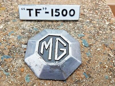 MG MIDGET LOGO WHEEL CENTER CAP, HUBCAP TF-1500 Emblem