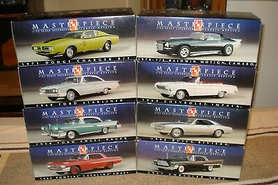 Amt Masterpiece 1/25 Promo, Factory Pre Decorated Replica's, Complete Set Of 8
