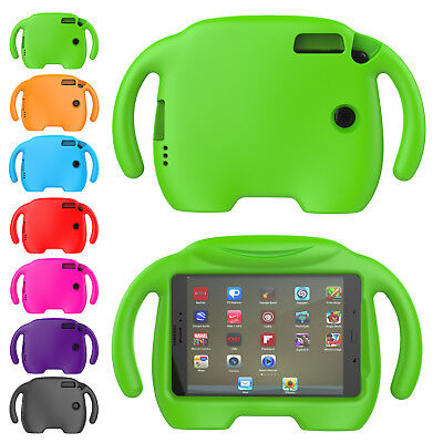 "For Samsung Galaxy Tab A 8.0"" SM-T350 Kids Handle EVA Soft Stand Cute Case Cover"