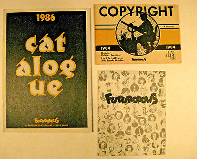 Futuropolis Lot Catalogues  TBE