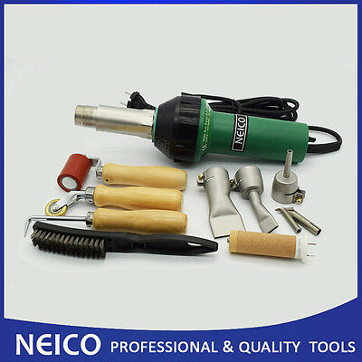 1600W PVC / TPO Roofing Membrane Hot Air Welding Torch Heat Gun