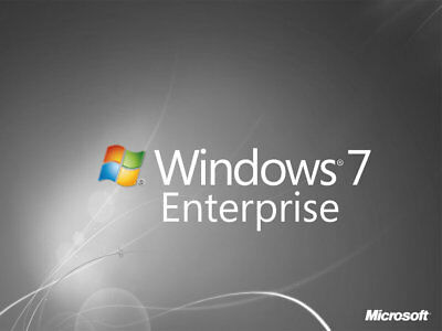 Windows 7 Enterprise Deutsch 32/64bit Bitlocker Verschlüsselung SOFORT EMAIL