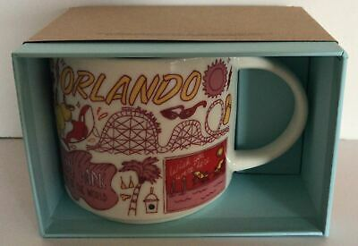 Starbucks Been There Series Collection Orlando Coffee Mug New with Box