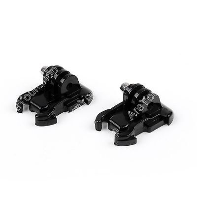 New 2pcs Quick Release Tripod Mount Adapter Buckle Bracket for Gopro Hero 1 2 3
