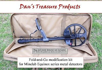 Deluxe version Fold-and-Go Kit for Minelab Equinox 600 & 800 metal detectors