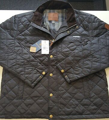 Free Country Men's Hemlock Quilted Jacket Size 2XXL