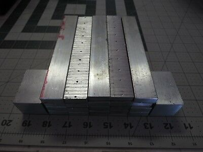 6 Lbs 0.7Ozs 22 Pcs Aluminum Scrap Metal Clip Machine Shop Leftovers Pieces