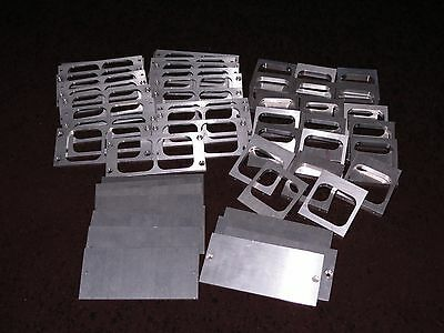 11 Pounds (52 Pieces) Aluminum Scrap Metal Clip Machine Shop Leftovers Pieces