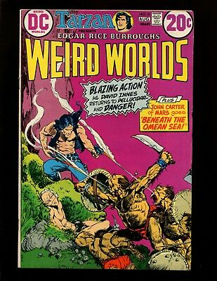 Weird Worlds #6 FN+ Kaluta John Carter Warlord of Mars Dejah Thoris David Innes