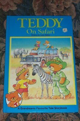 TEDDY ON SAFARI by McKie, Anne Book The Cheap Fast Free Post