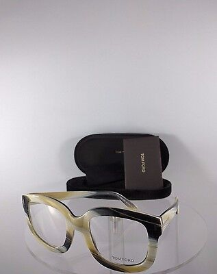 Brand New Authentic Tom Ford Oversized Eyeglasses TF 5315 062 Horn Color 53mm