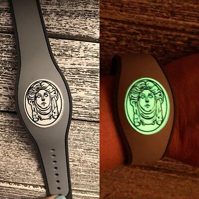 For Disney Magic Band 2 Decal Sticker Haunted Mansion Madame Leota Glow in Dark