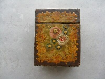 Antique / Older Vintage Hand Painted Divided Box Collectible JAPAN Signed