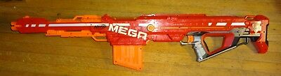 NERF dart gun MEGA CENTURIAN RIFLE with clip, no darts