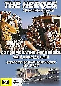 THE HEROES ~ OPERATION JAYWICK ~MV. KRAIT~ Z Special Unit ~Singapore~ WWII ~DV