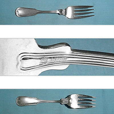 Frank Smith Sterling Salad Fork(S) ~ Fiddle Thread ~ No Mono