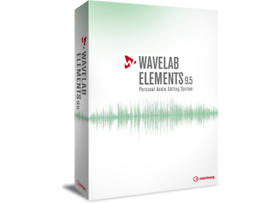 Steinberg WaveLab Elements 9.5 Audio Editing/Mastering Software