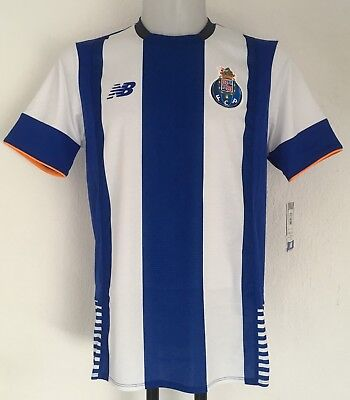 F C Porto 2015/16 S/s Home Shirt By New Balance Size Adults Medium Brand New