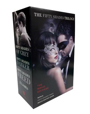 Fifty Shades Trilogy: The Movie Tie-In Editions with Bonus P ... 9780525563334