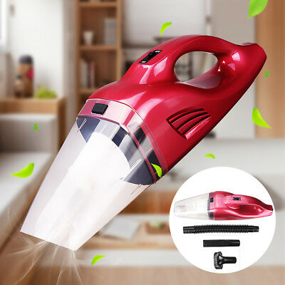 100W Portable Cordless Vacuum Cleaner Handheld Rechargeable Dry/Wet Car Home
