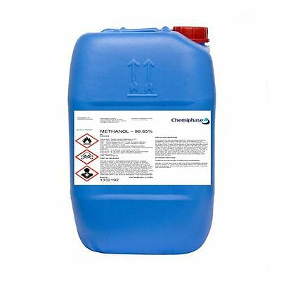 20 Litres of Methanol 99.85% Pure Grade For Biodiesel - ADR Delivery