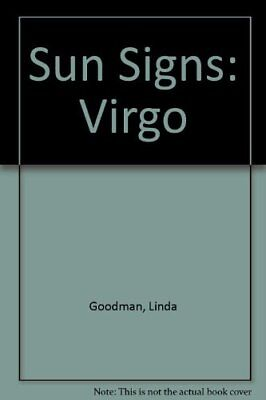 Sun Signs - Virgo by Goodman, Linda Paperback Book The Cheap Fast Free Post