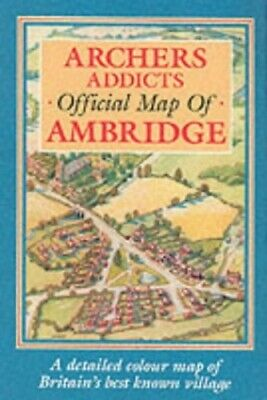 Archers Addicts Official Map of Ambridge by Humphreys, John Sheet map, rolled