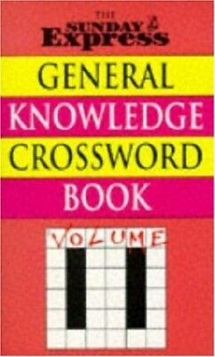 Sunday Express General Knowledge Crossword Book: ... by Sunday Express Paperback