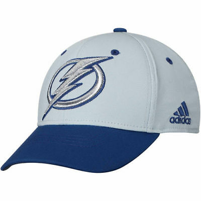 75029e2a163 ADIDAS TAMPA BAY Lightning Gray Centennial Structured Flex Hat ...