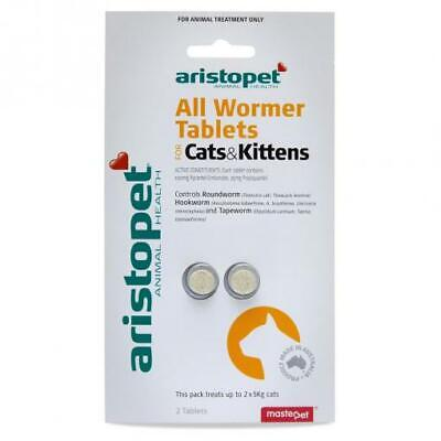 NEW Aristopet - All Wormer Treatment for Cats
