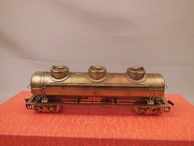 Ho Scale Brass Gem Models Tm-301 3-Dome Tank Car