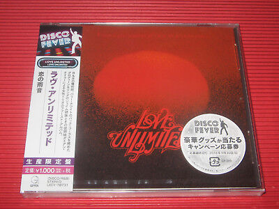 2018 DISCO FOREVER LOVE UNLIMITED Love Unlimited JAPAN CD