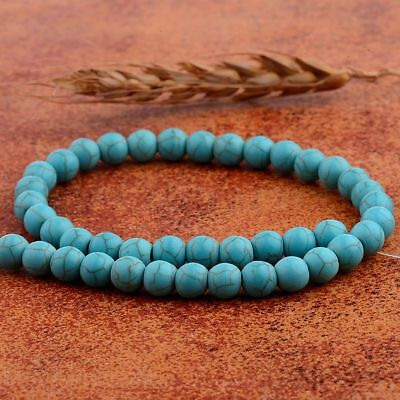 Wholesale Natural Stabilized Turquois Gemstone Round Beads Loose Beads 8MM