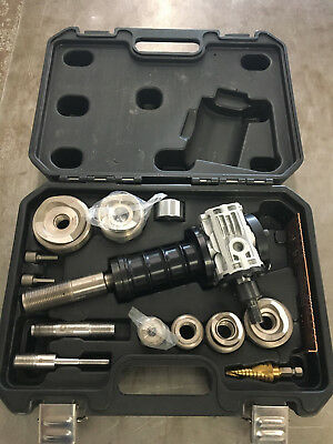 """Southwire Max Punch XD MPXD-SD SS Dies 1/2-2"""" Knock Out Punch Kit"""