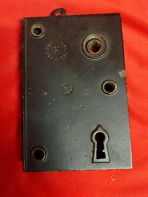 Antique Jail Door Lock No Keys - 1850's Penitentiary Prison Cell ?
