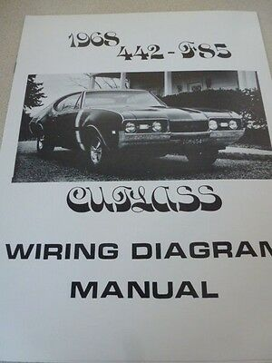 1968 oldsmobile cutlass 442 f85 wiring diagram manual 1968 olds cutlass wiring diagram