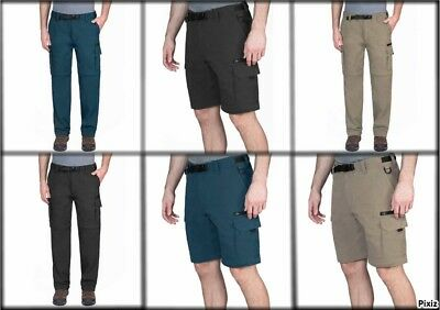 BC Clothing Men's Convertible Pant with Stretch (Select Color & Size) ***NEW***