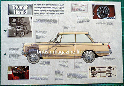 Triumph Herald - Technical Cutaway Drawing