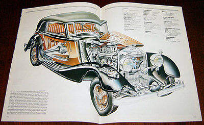 Horch V12 F1 - technical cutaway drawing